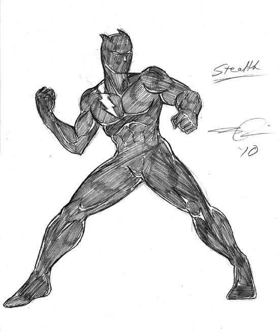 Stealth by Jonathan Price- http://dualmask.deviantart.com/