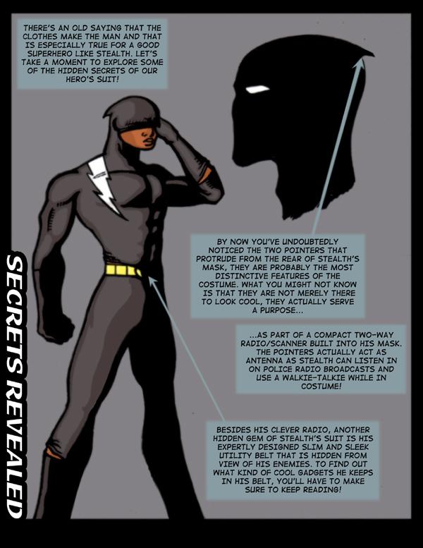 Secrets Revealed- Secrets of Stealth's Costume!